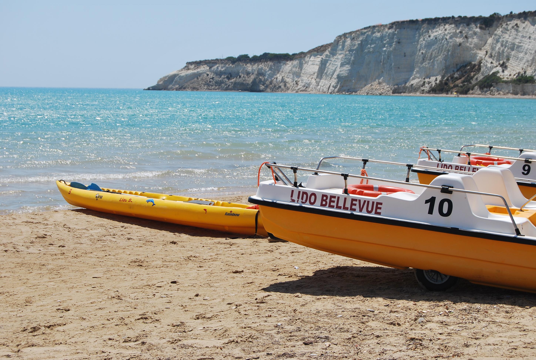 Capo Bianco e la spiaggia di Eraclea Minoa